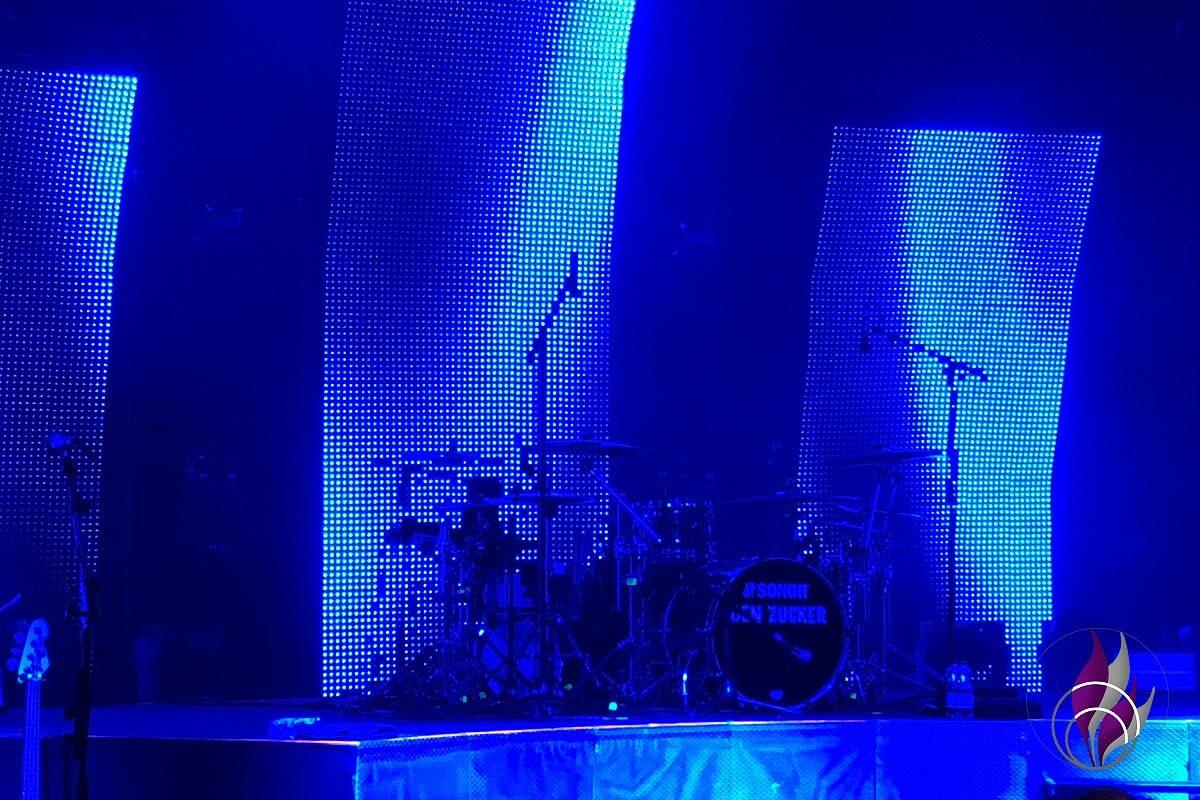 Ben Zucker Schlagzeug Bühne