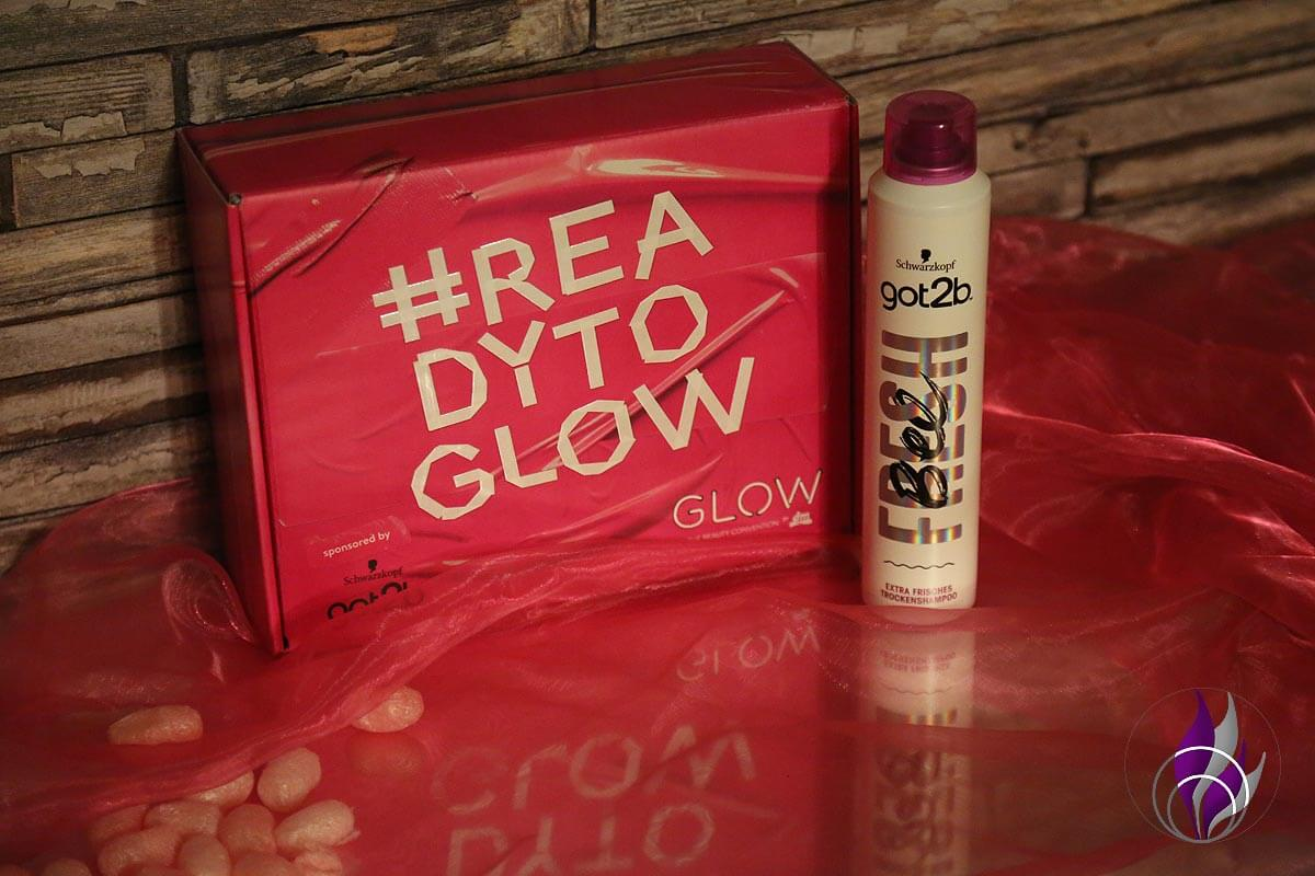 #readytoglow Box Trockenshampoo Fresh Bee