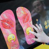 Beauty Convention BeQu Flip Flops gestalten