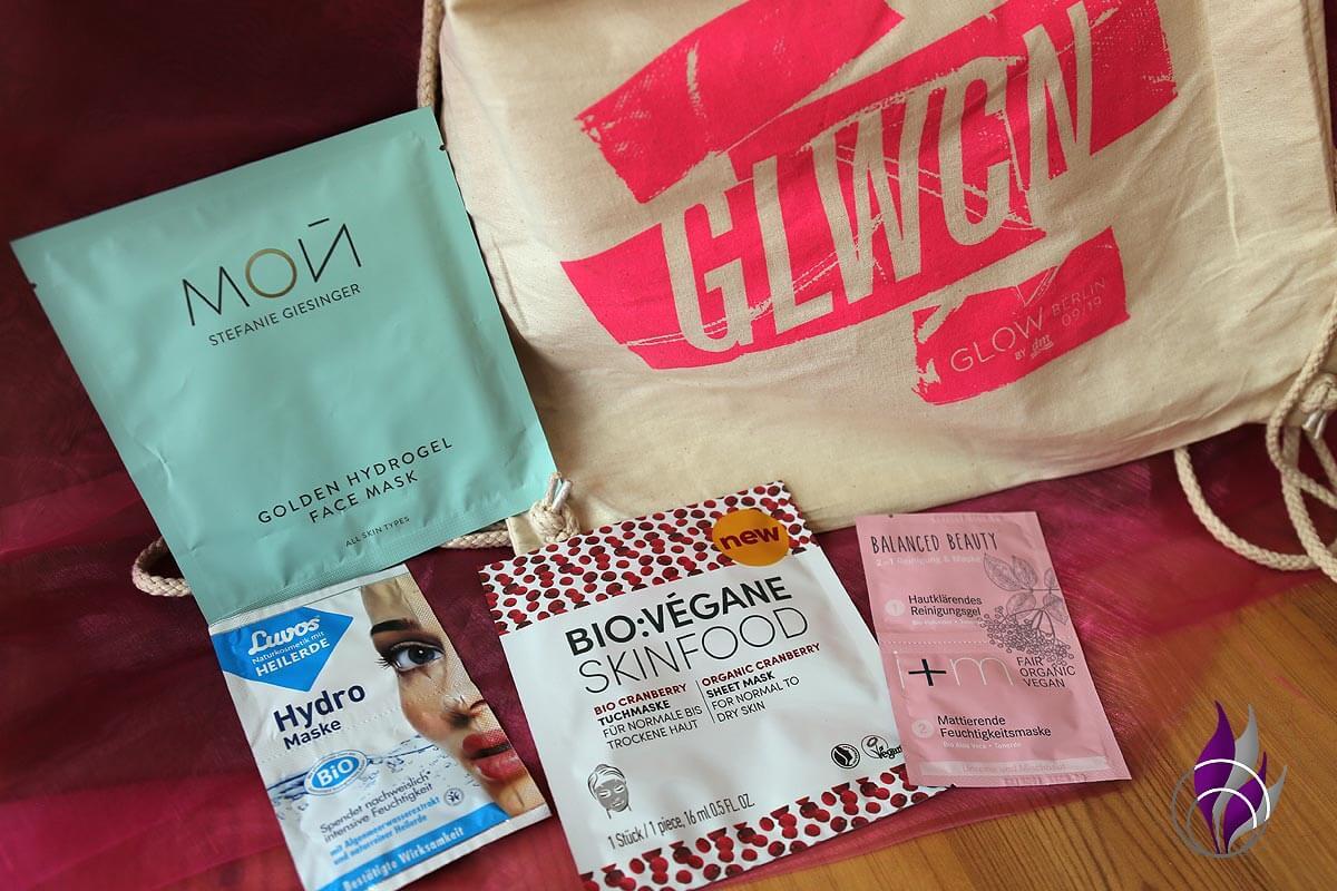 GLOW Goodie Bag Gesichtspflege Masken