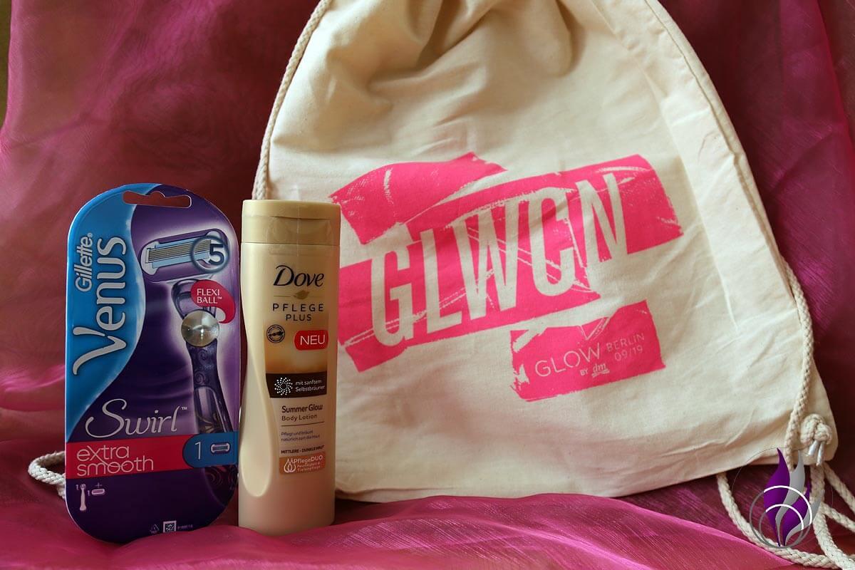 GLOW Goodie Bag Gilette Venus Dove