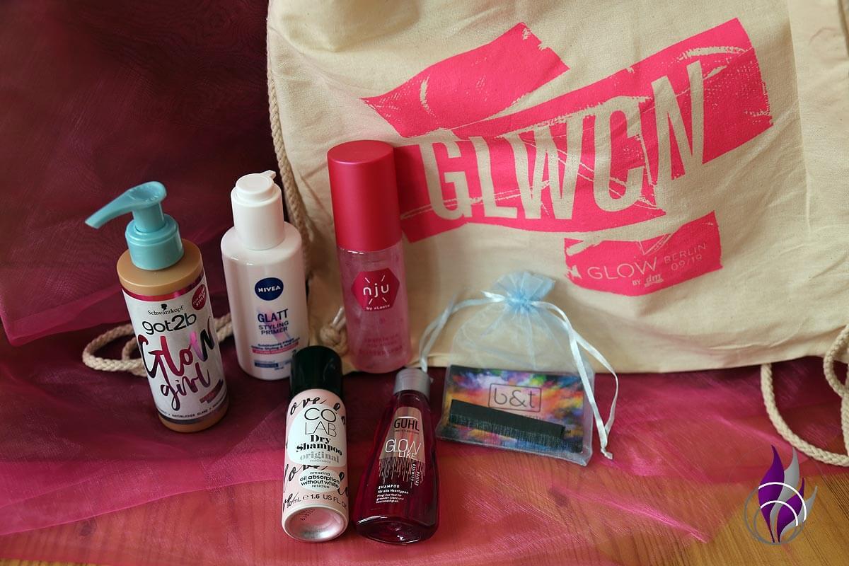 GLOWcon Goodie Bag Haarpflege Haarstyling