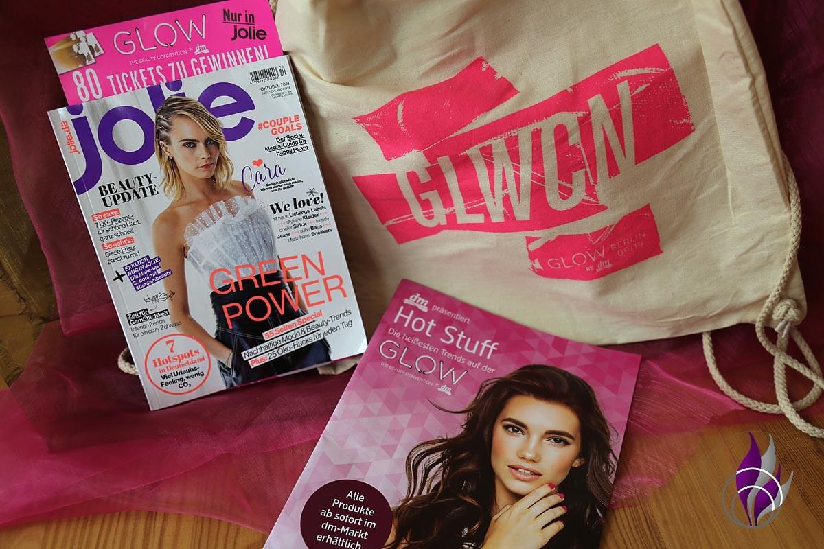 GLOW by dm Goodie Bag Jolie Magazin