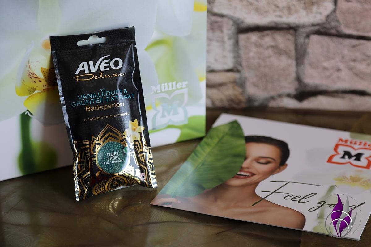 Müller Look Box AVEO Deluxe Badeperlen