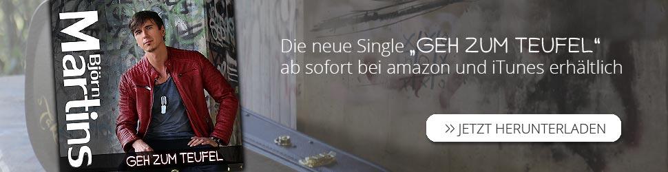 Björn Martins neue Single Geh zum Teufel Billboard