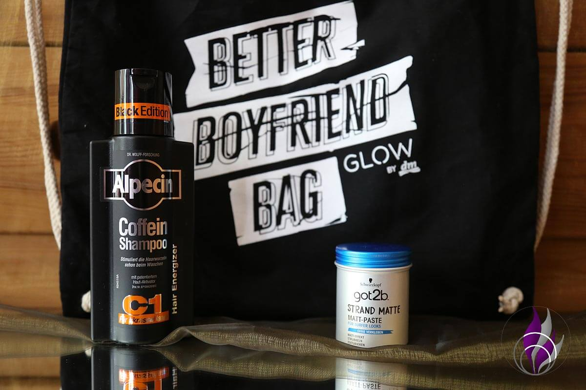 Better Boyfriend Bag GLOWcon Berlin 2019 Alpecin gobt2b