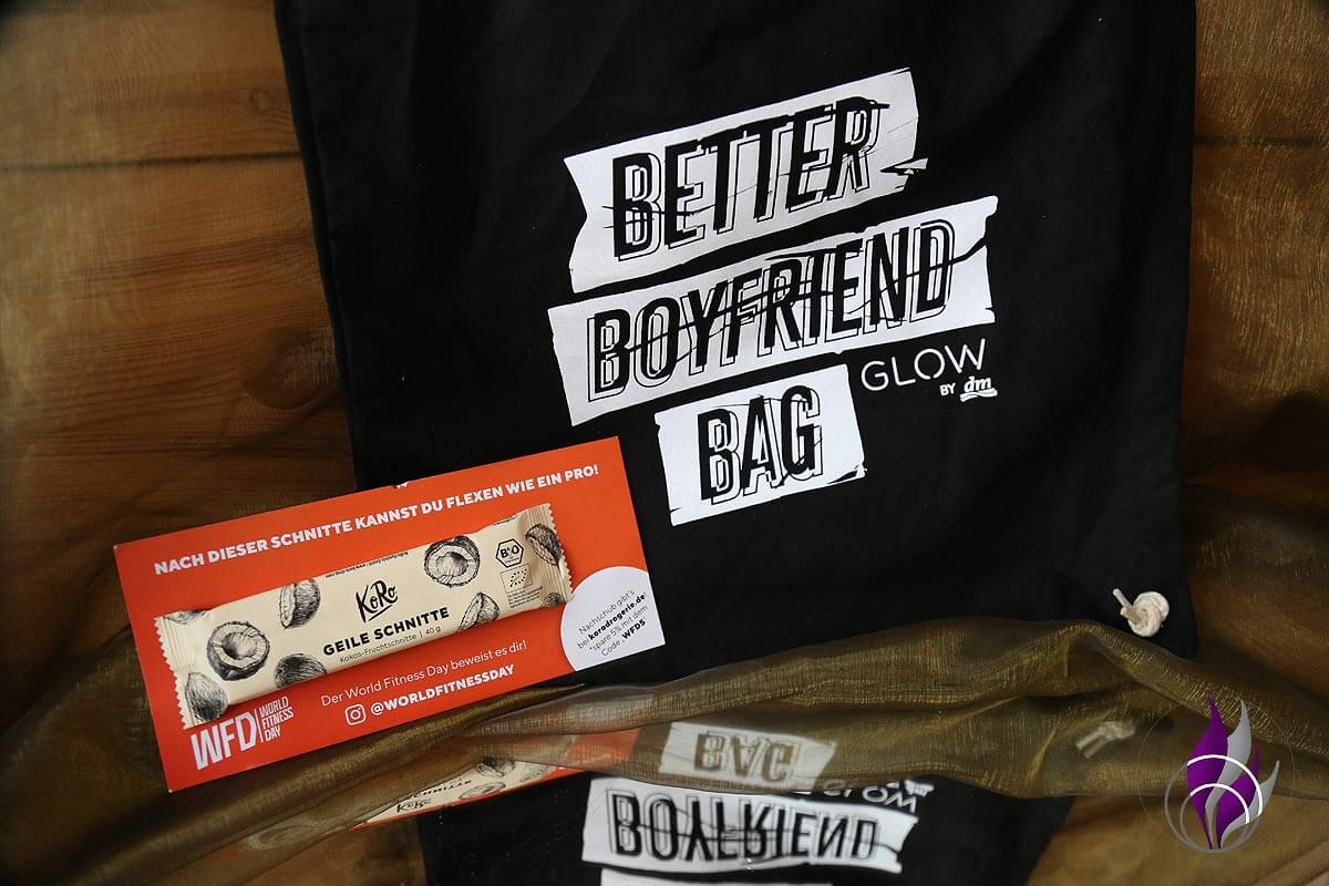 Better Boyfriend Bag GLOWcon Berlin 2019 KoRo