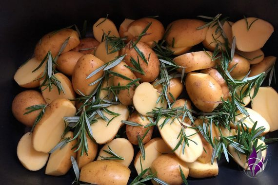 Kartoffeln Rosmarin Bräter