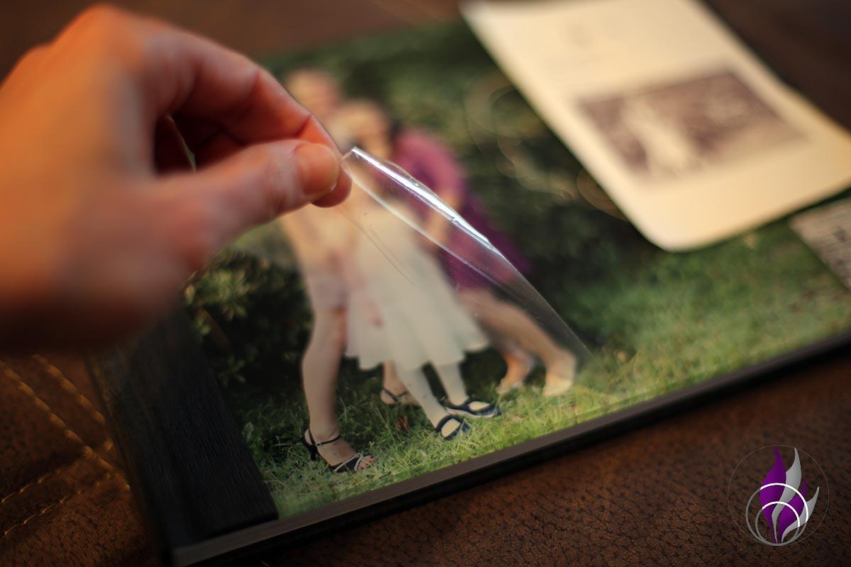 Professional Line Fotobuch Schutzfolie