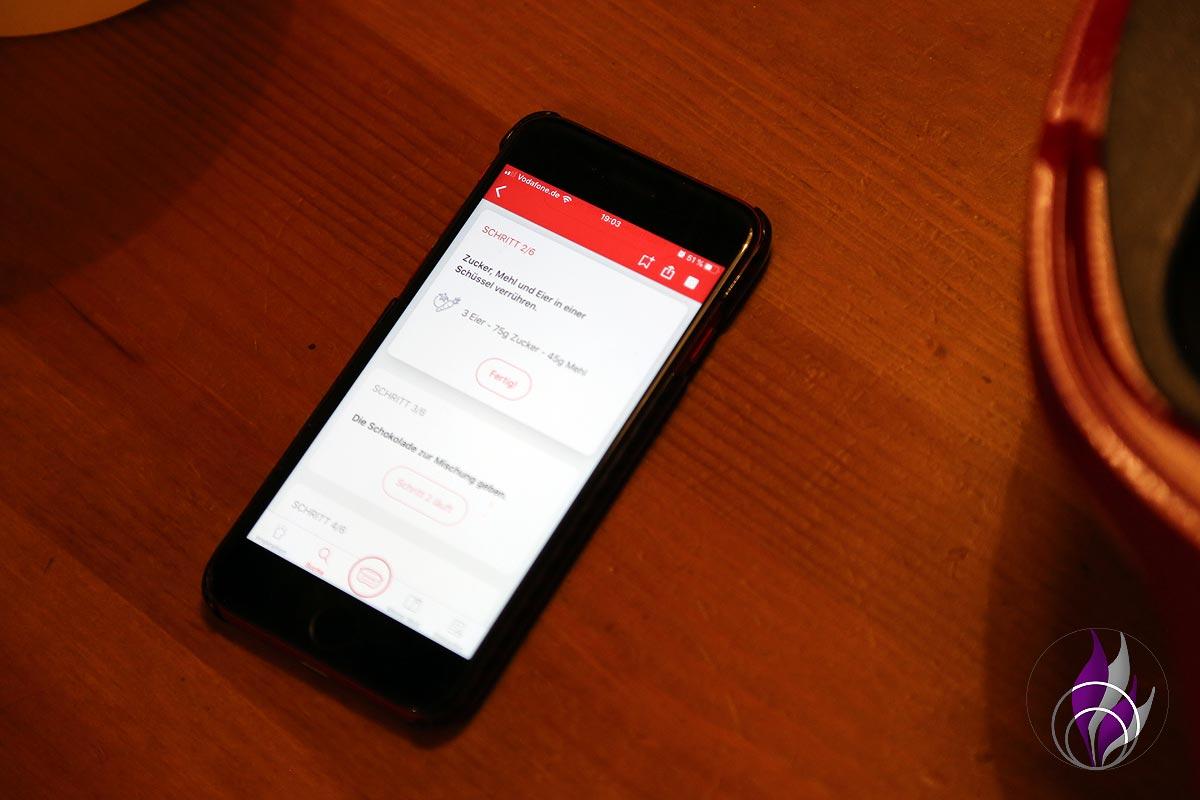 Cake Factory App Smartphone Rezept
