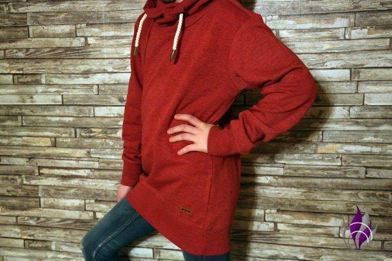 FIT-Z Online Shop Teens Kids Pullover mit Kapuze und Kordeln