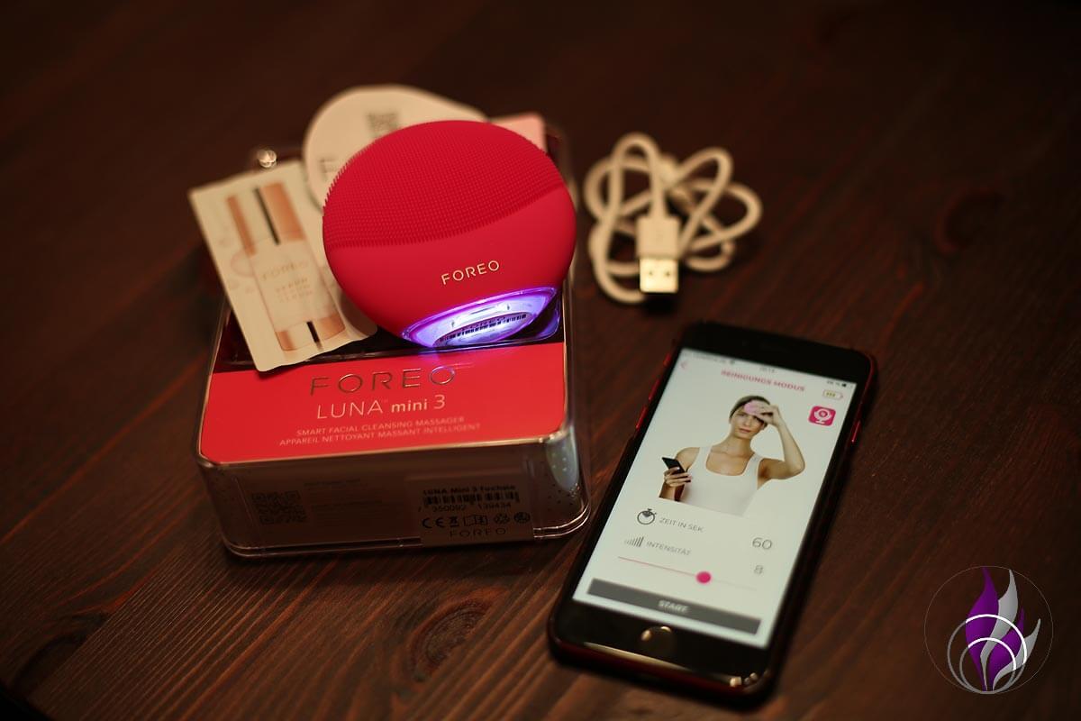 FOREO LUNA mini 3 Verpackung App