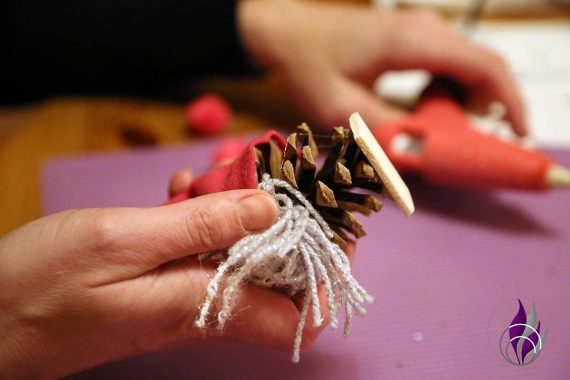 Wichtel DIY Weihnachten Standfläche